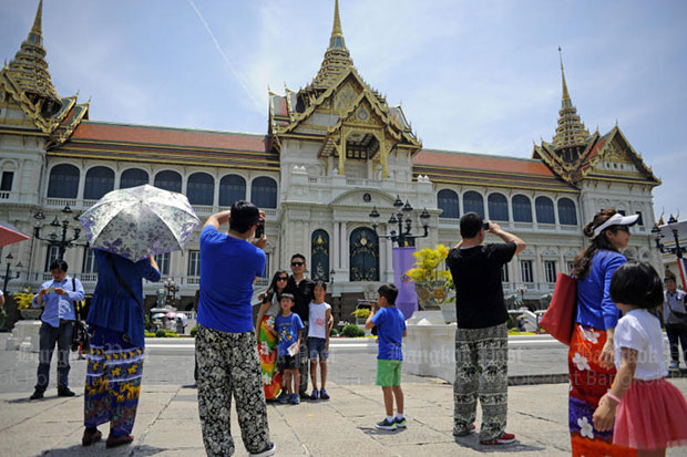 Bangkok trips still popular with Chinese
