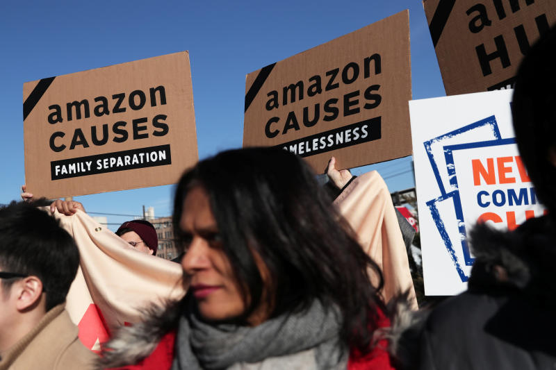 Amazon ditches New York as location for new headquarters