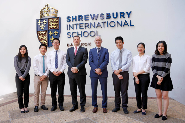 """Shrewsbury International School Bangkok selected world's Best International School 2019 for helping students secure places at the world's leading universities"""