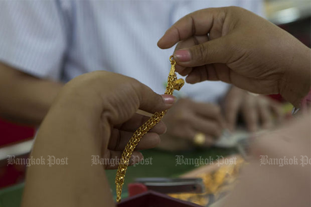 Gold prices up B50 to B19,550