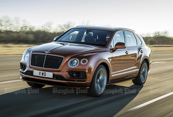 Bentley bills Bentayga Speed as world's fastest SUV