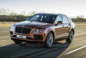 Bentley bills Bentayga Speed as world's fastest SUV