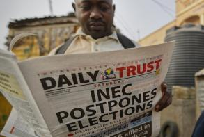 Nigerian vote postponed hours before polls open