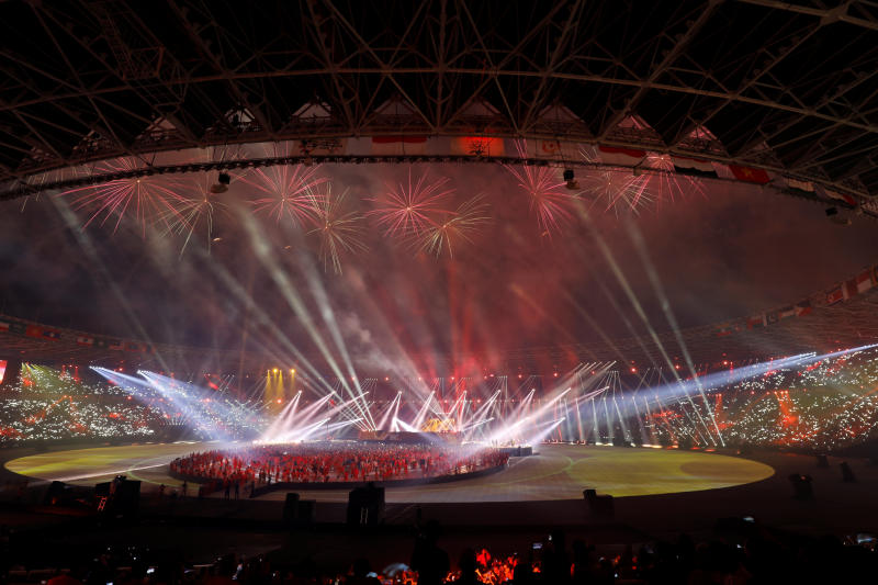 Indonesia wins praise for hosting the Asian Games last year and the country aims to host the Olympics in 2032. (Reuters photo)