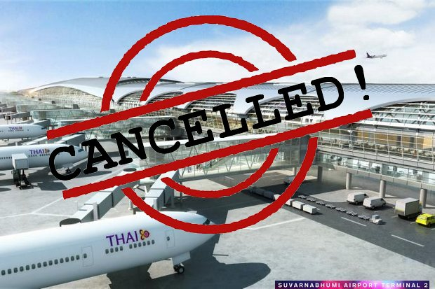 Airports of Thailand has scrapped the whole Terminal 2 project for Suvarnabhumi and will start all over on both the design and just where to put it.