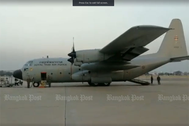 PM's plane turns back