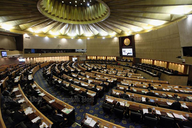 An amendment to the Securities and Exchange Act received the endorsement of the National Legislative Assembly on Feb 8. (Bangkok Post file photo)