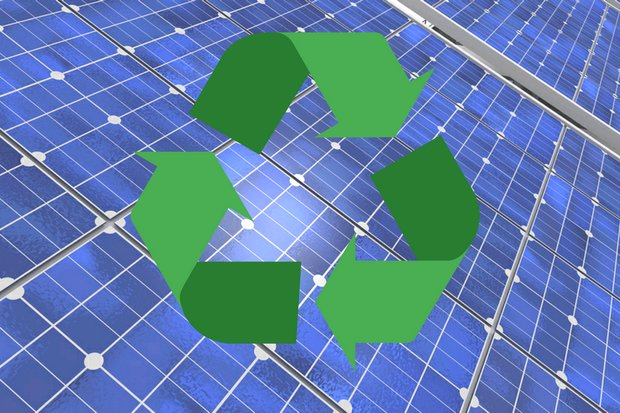 A new recycling plan for discarded solar panels and vehicle batteries will stress circular methods. (Photo provided)