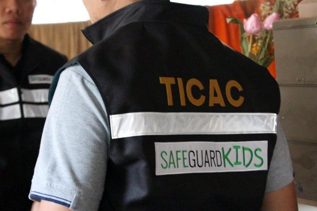 The Thailand Internet Crimes Against Children (Ticac) police unit announced the arrest of a Nonthaburi man on Monday.