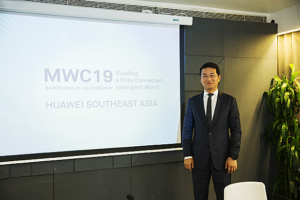 Mr Wu says Huawei wants local companies to realise their 5G dreams.