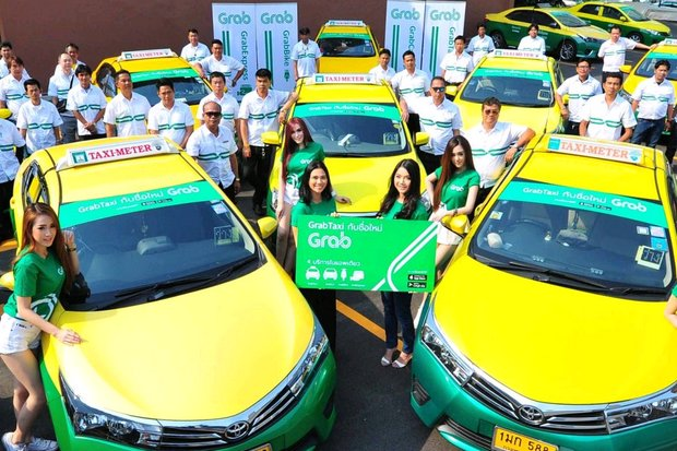 Grab and other ride-hailing services are still illegal in Thailand, but the Tourism Authority of Thailand (TAT) will try to reverse that. (Photo via Grab.com)