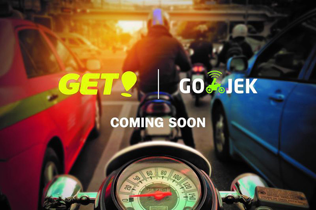 Go-Jek promotes its international expansion to Thailand in a 2108 campaign last year. The ride-hailing firm has begun services in the country under the brand GET.
