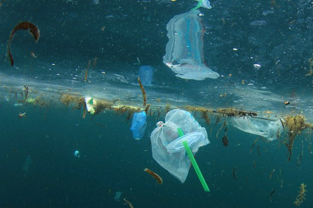 Government says 80% of ocean pollution caused by Thailand comes from the land. (File photo)
