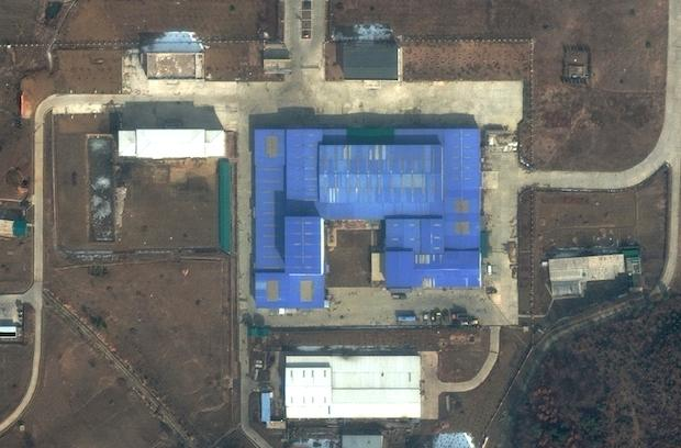 Satellite images show possible missile construction in North Korea