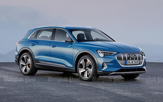 2019 Audi e-tron 55 Quattro: Thai pricing and specs