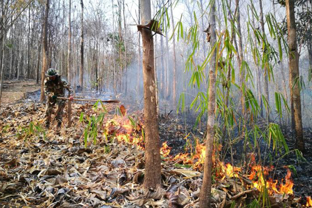 Haze levels maintain hold in North