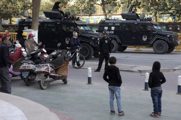 China says nearly 13,000 'terrorists' arrested in Xinjiang