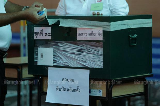 Premarked ballot papers pinned on voter's misunderstanding