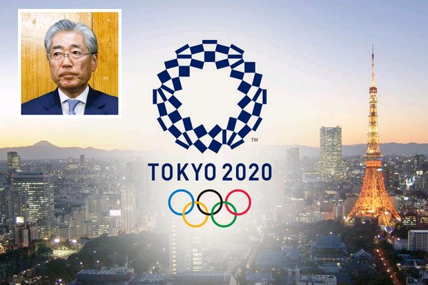 Tsunekazu Takeda (inset) stepped down Tuesday amidst corruption charges over awarding the Games to Tokyo. (via IOC)