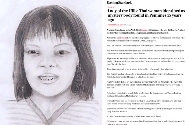 'Lady of the Hills' was a Thai bride