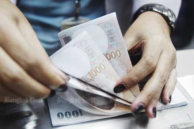 Bankrupt people will be chased down by the tax department. (Bangkok Post file photo)