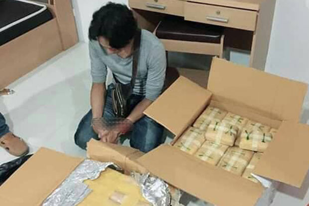 Online vendor caught with 400,000 speed pills