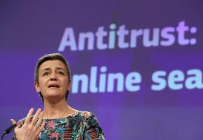 EU fines Google for abusing dominance in online advertising