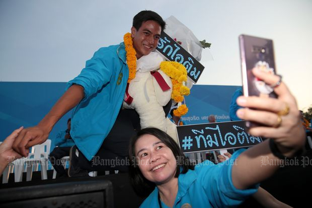 Backed party leads unexpected win in Thailand elections