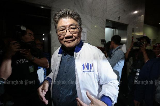 Phumtham Wechayachai, secretary-general of the Pheu Thai Party (file photo)
