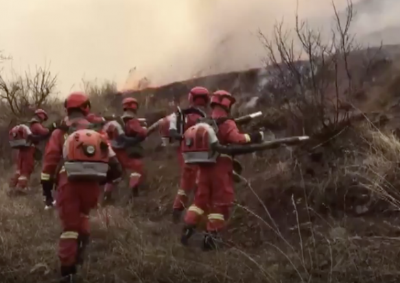 China grapples with forest blaze that killed 30 firefighters