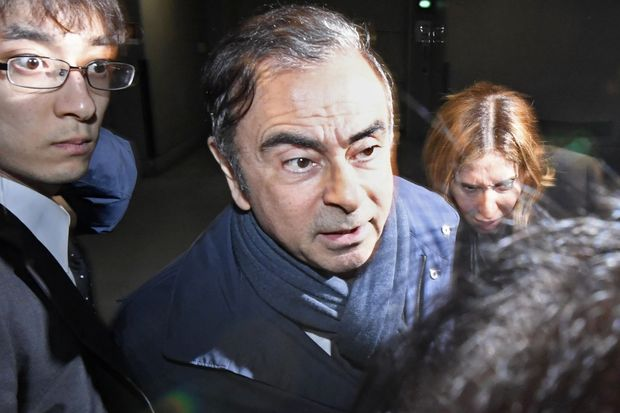 Ghosn rearrested on new charges