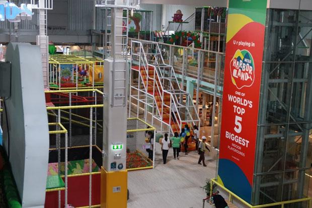 Bangkok's biggest indoor playground opens