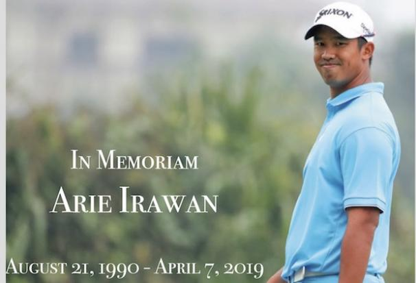 Golfer Irawan dies aged 28 during tournament in China