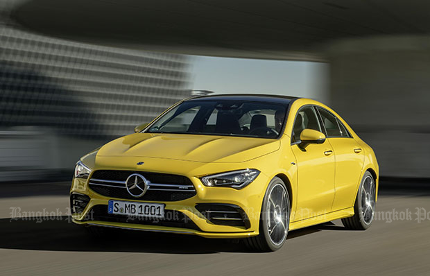 Mercedes-AMG makes another four-door pocket rocket