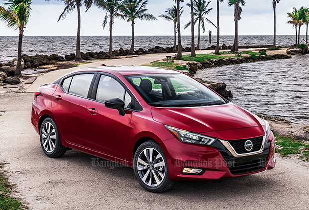 First glimpse of new Nissan Almera for Thailand