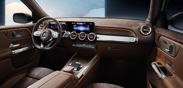 Mercedes-Benz previews new GLB