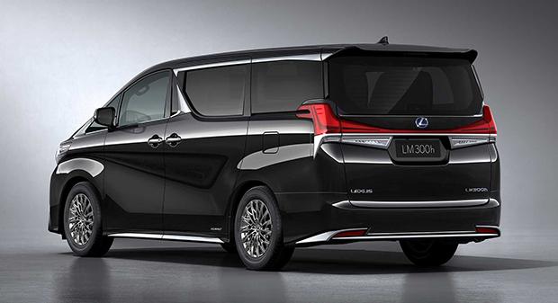 Lexus Rehashes Toyota Alphard As New Lm