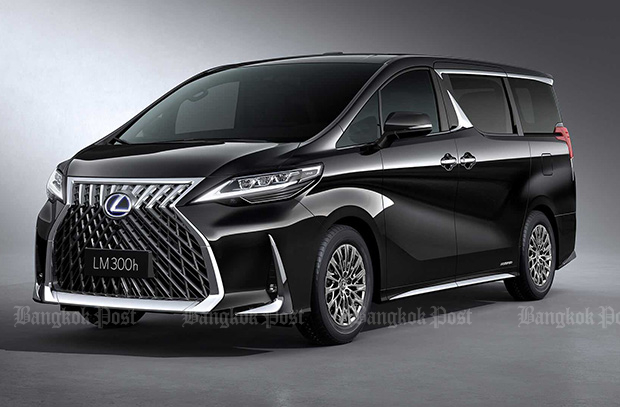 Lexus rehashes Toyota Alphard as new LM