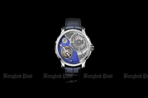 Eccentric timepieces