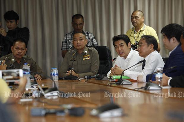Future Forward's Piyabutr denies charges