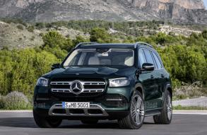 New Mercedes-Benz GLS eyes BMW X7