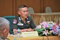 Border police chief to replace 'Big Joke'