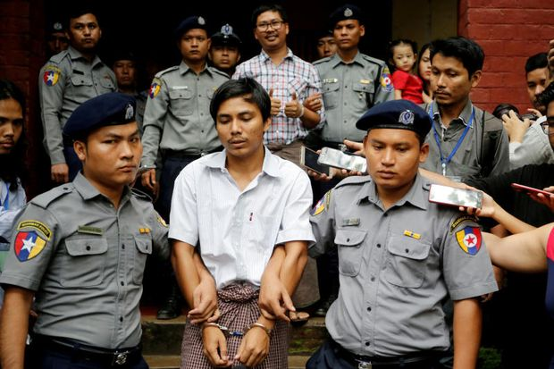Top Myanmar court rejects appeal by massacre reporters