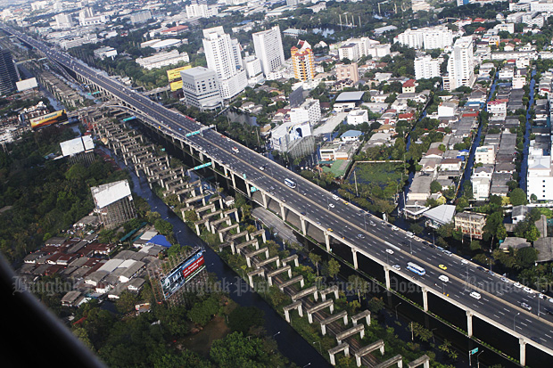 Hopewell line. (Bangkok Post file photo)