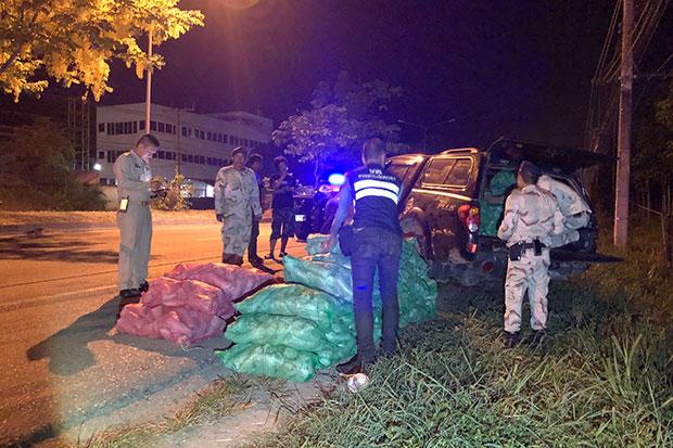 500kg of kratom leaves seized after erratic car chase