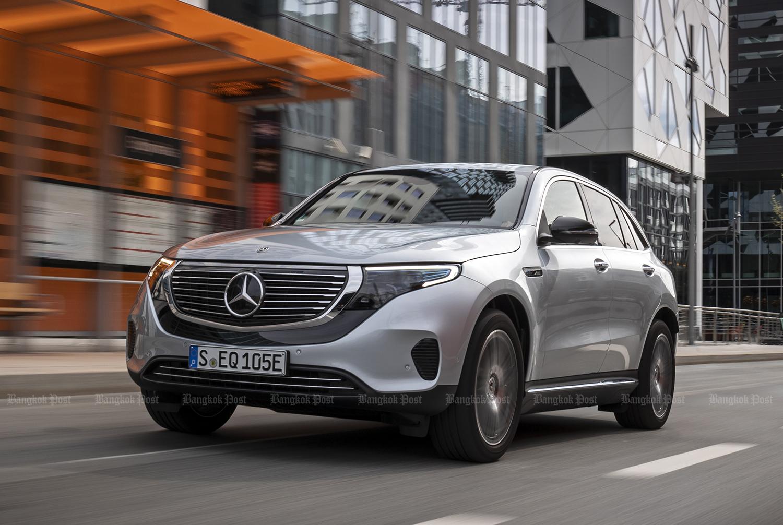 2019 Mercedes-Benz EQC 400 electric review