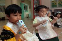 School milk goes under the microscope