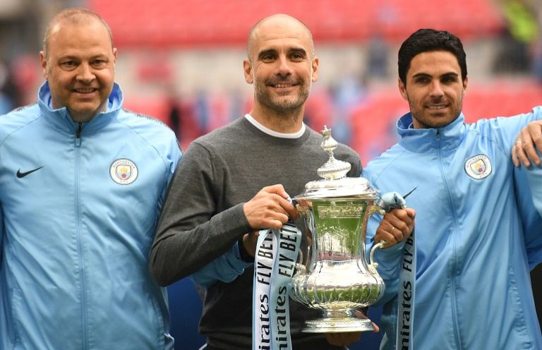 Image result for guardiola treble