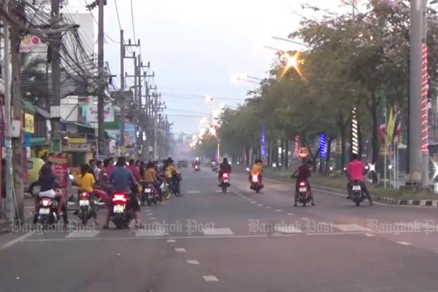 30 illegal racers rounded up in Hat Yai