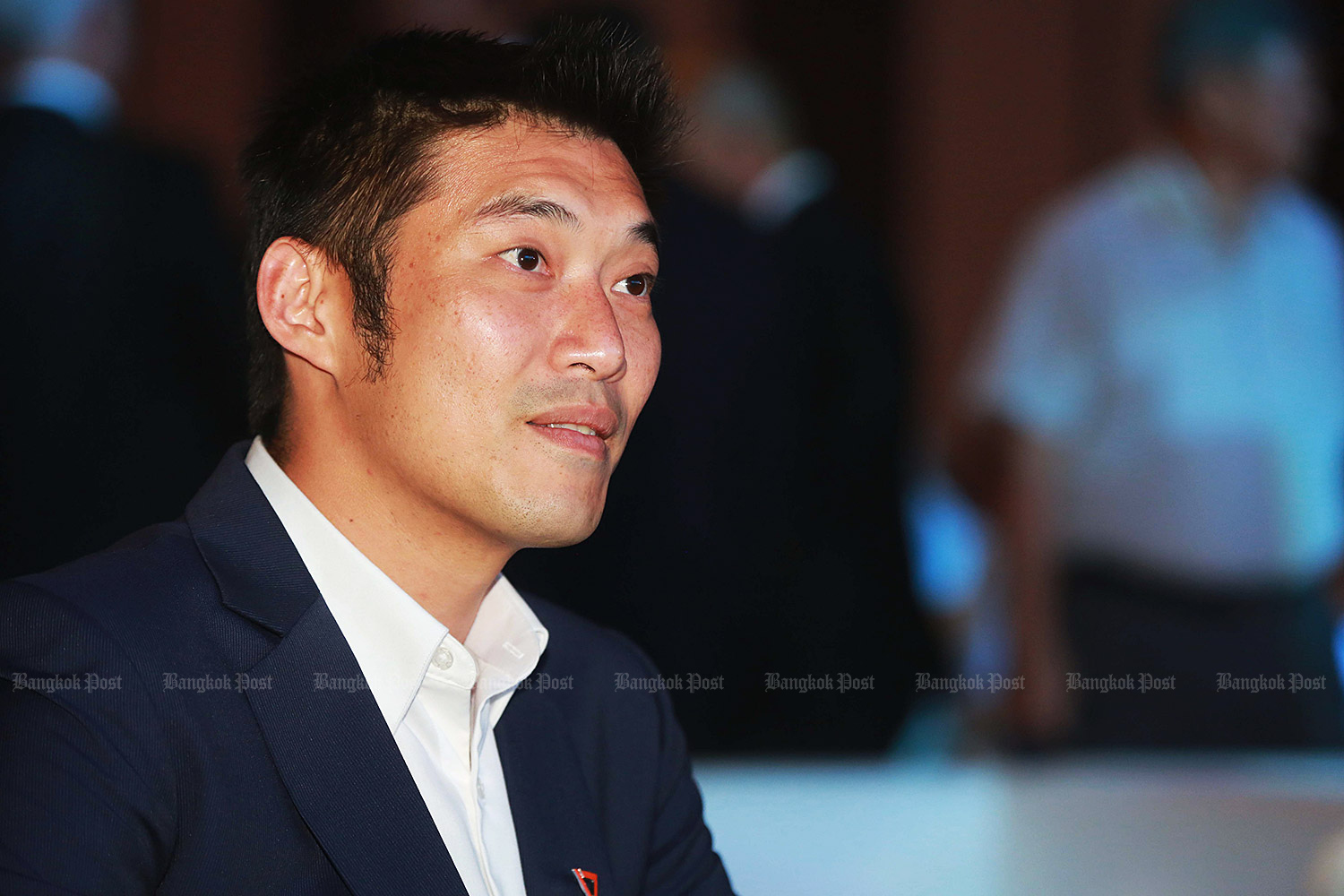 Future Forward Party leader Thanathorn Juangroongruangkit. (Bangkok Post file photo)